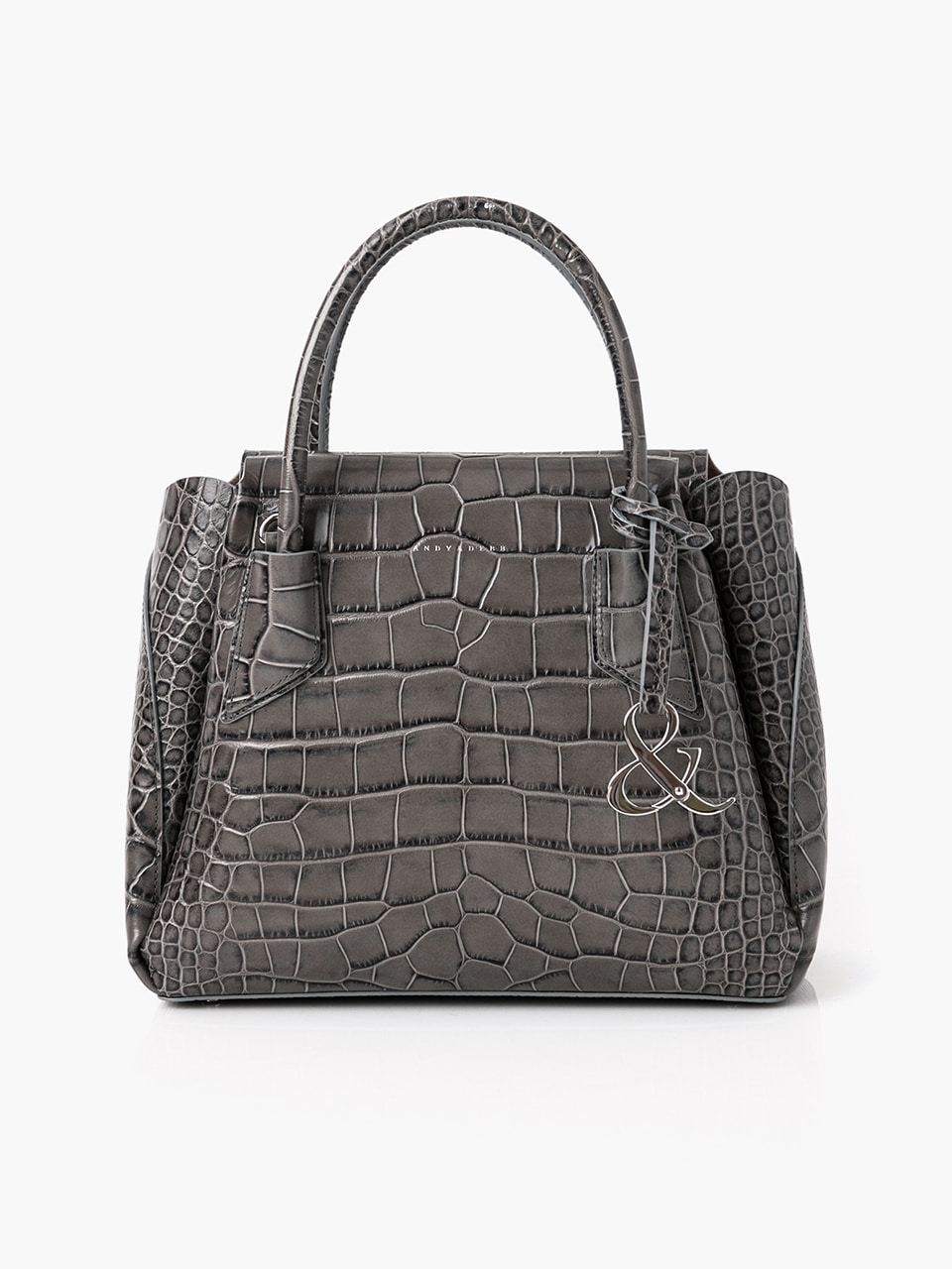 [ABCME3005M] DEBBIE BAG CROCO PATTERN_GR